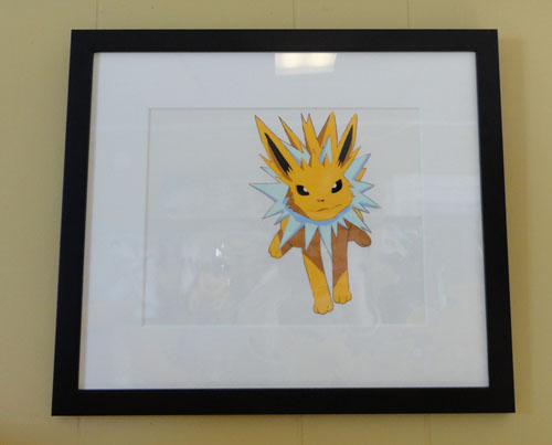 Pokemon Jolteon Cel