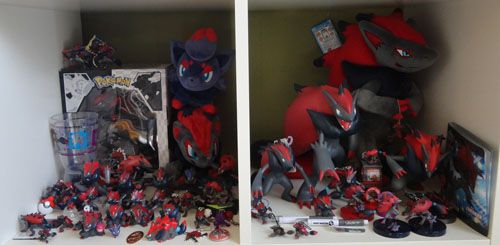 Pokemon Toys of Zoroark