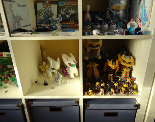 Pokemon Toys of Arceus, Giratina, and Dialga