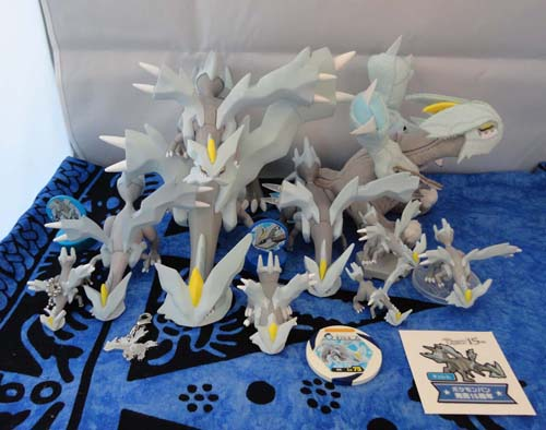 Kyurem Pokemon Collection Figures and Plush