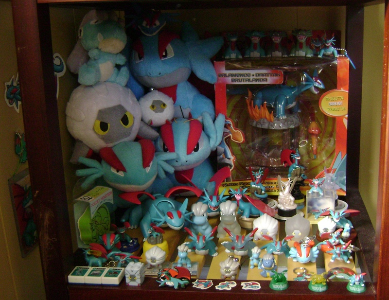 Toz's Salamence line Collection