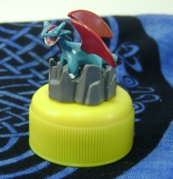 Pokemon Salamence Candy Cap Figure