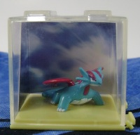 Pokemon Salamence In Case Figure