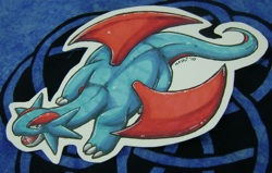 Pokemon Salamence Color Cutout