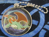 Pokemon Salamence Metal Medallion