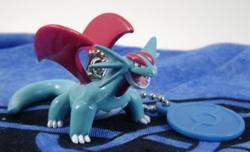 Pokemon Salamence Nametag Keychain Figure