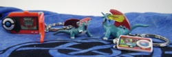 Pokemon Salamence Pokedex Keychain Figures (2)