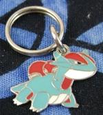Pokemon Salamence Metal Pokedoll Charm