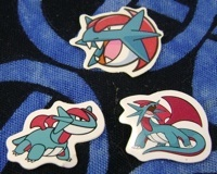 Pokemon Salamence Stickers
