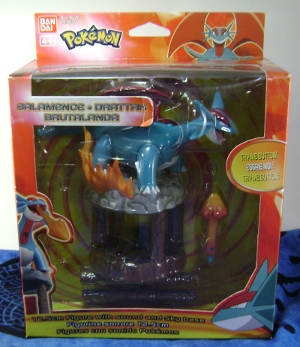 Pokemon Salamence Kids Figures - Attack with clear