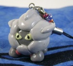 Pokemon Shelgon Custom Charm Sculpture