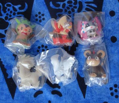 Pokemon Kids Figures in Plastic