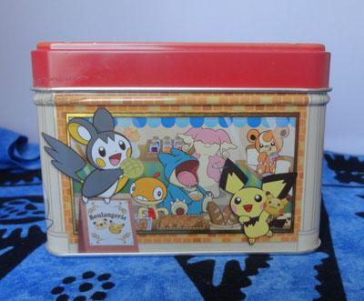 Pokemon Center Boulangerie Bakery Tin