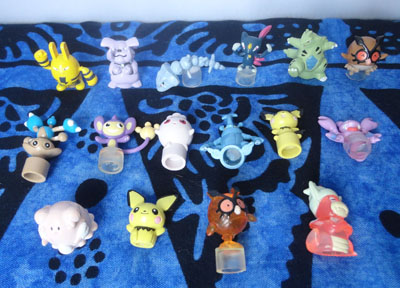 Pokemon Battle Museum Figures