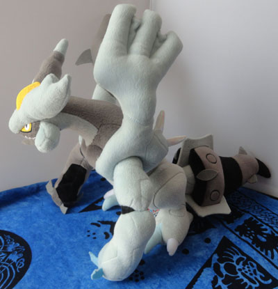 Pokemon Black Kyurem Pokemon Center Plush