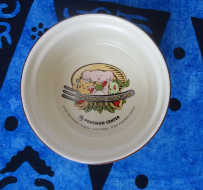 Pokemon Cooking Club Ceramic Dish