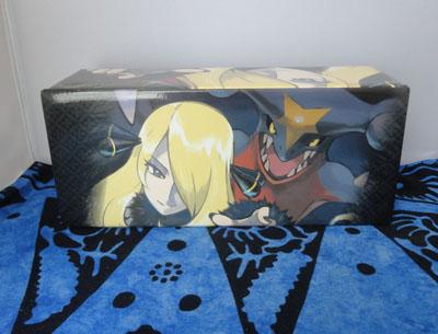 Pokemon Cynthia and Garchomp Card Box