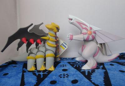 Pokemon Palkia and Giratina DX Tomy Figures