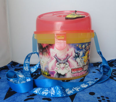 Pokemon Diancie Movie Popcorn Bucket