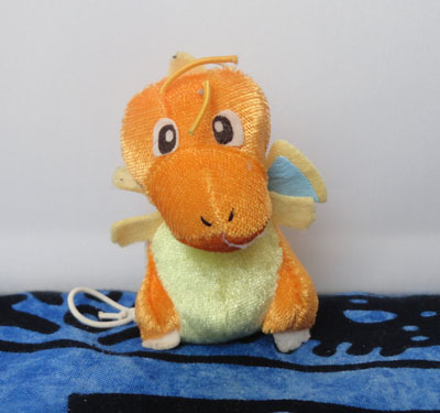 Pokemon Bell Plush Dragonite