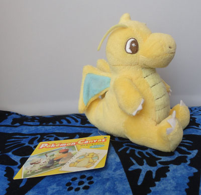 Pokemon Canvas Dragonite Plush