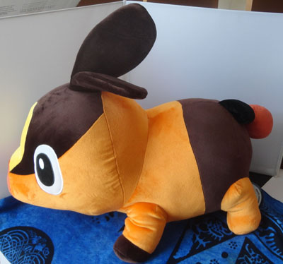Pokemon Pokemon Center Japanese Tepig 1:1 Scale Plush