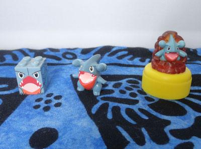 Pokemon Gible Mega Block and Figures