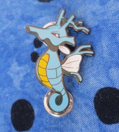 Pokemon Kingdra Pokemon Ranger Pin