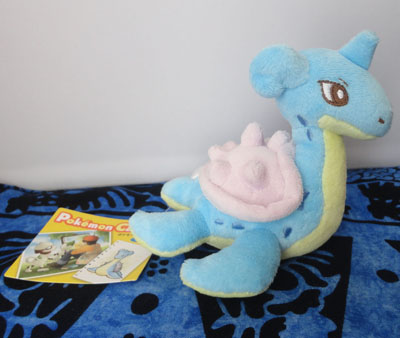 Pokemon Lapras Canvas Plush