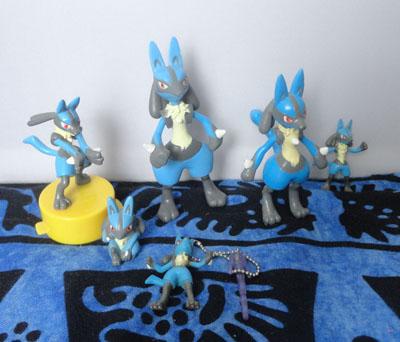 Pokemon Lucario Figures