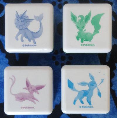 Pokemon Eevee Maison Plastic Stamps