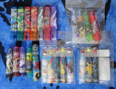 Pokemon Pencil Caps Lot