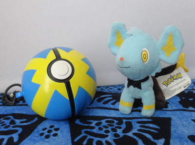 Pokemon Jakks Throw Pokeball Shinx Mini Plush