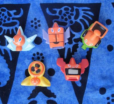 Pokemon Rotom Kids Figures
