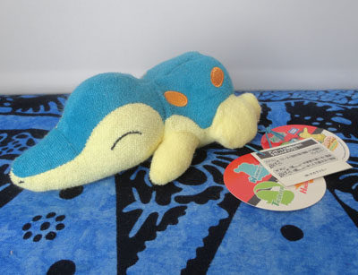 Pokemon Terrycloth Cyndaquil Laying Tomy Plush