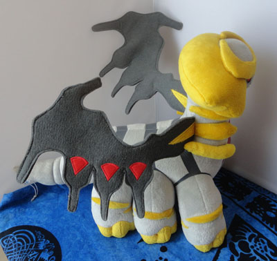 Pokemon Tomy Pokemon Giratina Another Altered Forme Large Plush