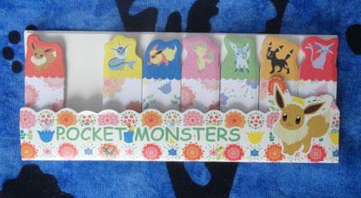 Pokemon Eevee Evolution Paper Bookmarks