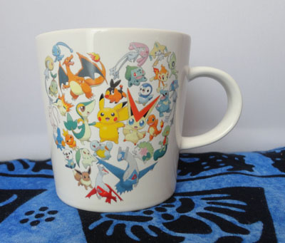 Pokemon With You Charity Mug