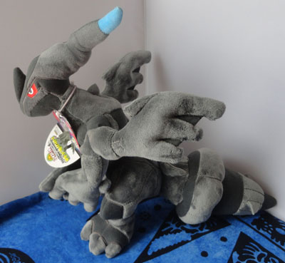 Pokemon Zekrom Posable Minky Tomy Plush