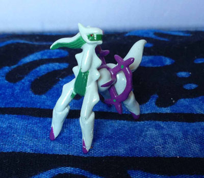 Pokemon Arceus Draco Plate Keshipoke Figure