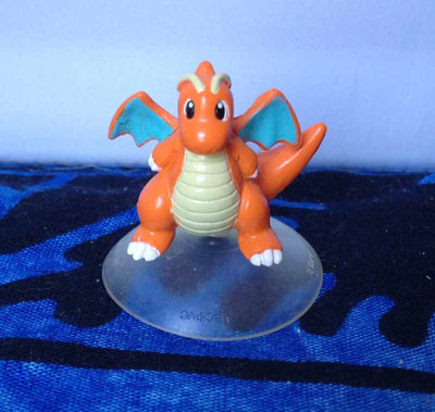 Pokemon Dragonite Suction Cup Figure