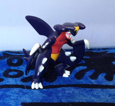 Pokemon Garchomp Shiny Tomy MC Figure