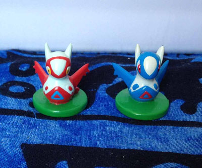 Pokemon Latias and Latios Minicot Figures