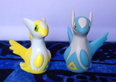 Pokemon Latias and Latios Official Shiny Kids