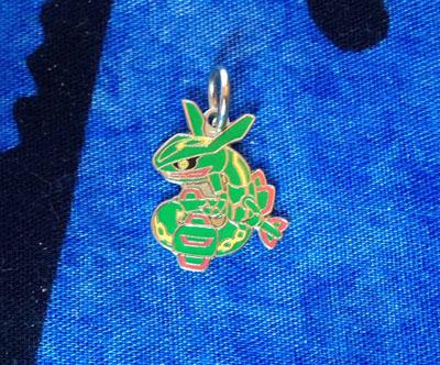 Pokemon Rayquaza Pokedoll Charm