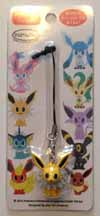 Pokemon Jolteon Pokemon Time Figure Strap