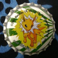 Pokemon Jolteon Thai Bottle Cap