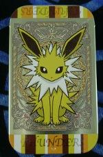 Pokemon Jolteon Eevee Collection Candy Tin