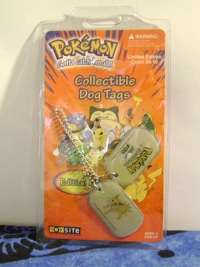 Pokemon Jolteon Dog Tags