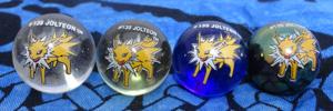 Pokemon 4 Jolteon Marbles